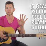 Mark McKenzie teaching the 5 reasons you don't feel like playing guitar