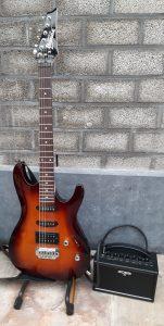 My first beginner guitar set: IBanez Gio & Boss Katana Mini MyFirstGuitarSet